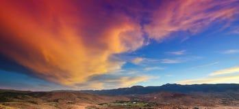 Reno Sunset sul Foto de Stock