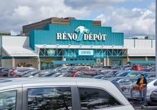 Reno zajezdni parking i sklep Obraz Royalty Free