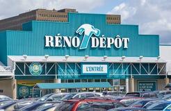 Reno zajezdni parking i sklep Zdjęcia Stock