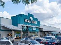 Reno zajezdni parking i sklep Obrazy Royalty Free