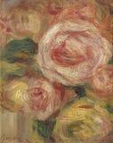 Renoir-Fleurs Pierre -Pierre-auguste stock foto