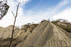 Renomowany krajobraz jednakowa księżyc powierzchnia Zdjęcie Royalty Free