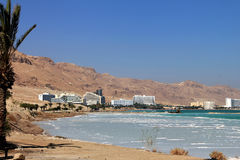 Renomowany zdrowie kurortu kompleks na Nieżywym morzu Zdjęcia Stock