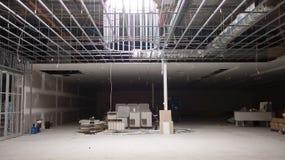 Renovação comercial do espaço Imagem de Stock