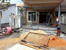 Renovação da casa Imagem de Stock Royalty Free
