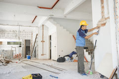 Renovação da casa imagem de stock