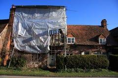 Renovação da casa de campo Fotos de Stock Royalty Free