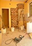 Renovação da cozinha Imagens de Stock
