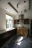 Renovação da cozinha Fotos de Stock