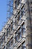 Renovação da fachada da construção Fotografia de Stock Royalty Free