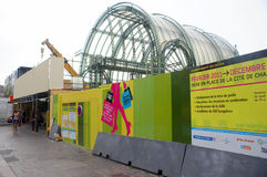 Renovação de Les Halles em Paris, junho 2011 Imagens de Stock