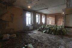 Renovação do apartamento Foto de Stock