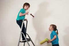 A renovação faz o divertimento Fotos de Stock Royalty Free