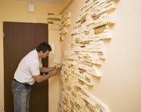 Tapete bege foto de stock imagem de carpeting interior - Ladrillo decorativo interior ...