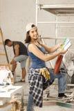 Renovação home Imagens de Stock Royalty Free