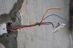 Renovação - interruptor leve foto de stock royalty free
