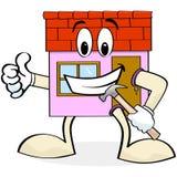 Renovación de la casa libre illustration