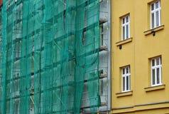 Renovación de la fachada del edificio Fotos de archivo libres de regalías