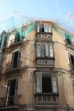 Renovación del edificio (Málaga) Fotografía de archivo libre de regalías