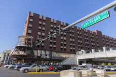 Renovación en Las Vegas, nanovoltio del hotel de Bill el 20 de mayo de 2013 Imagenes de archivo