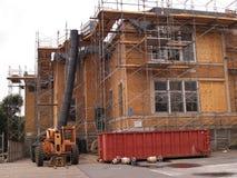 Renovación exterior del edificio Foto de archivo