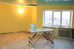 Renovación interior casera foto de archivo libre de regalías