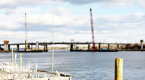Renovación pkwy de los puentes de la correa de Nueva York Brooklyn Imágenes de archivo libres de regalías