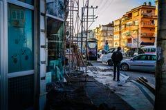 Renovación urbana en la región de Mármara de Turquía Imágenes de archivo libres de regalías