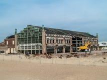 Renovaciones del parque de Asbury Imágenes de archivo libres de regalías