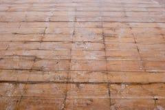 Renovaciones - suelo del cedro Imagenes de archivo