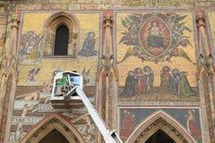 Renovação do mosaico Fotografia de Stock Royalty Free