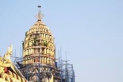 Renovate pagoda Stock Image