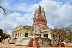 Renovate pagoda at Ancient City in Bagan Royalty Free Stock Photo