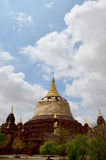 Renovate pagoda in Bagan Archaeological Zone Stock Images