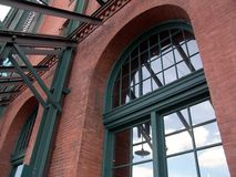 Renovated. Old renovated factory in Pittsburgh - architecture Stock Photography
