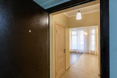 Renovated apartment in new building Royalty Free Stock Photos
