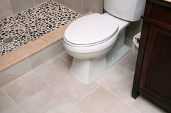 Remodeled Bathroom Stock Photography