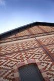 Renovated brick building Stock Image