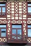 Renovated Facade Stock Photo