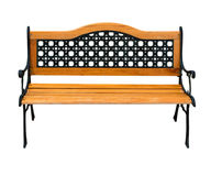 Renovated high quality stylish bench Stock Photography