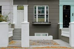 Renovated house Stock Photo
