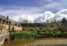 Renovated medieval castle Royalty Free Stock Photography