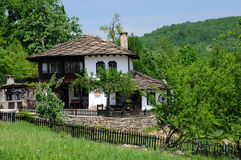 Renovated Medieval House in Bozhentsi Stock Image