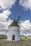 Renovated mill. It is a renovated mill situated in the natural park of Cabo de Gata in Almeria, Spain stock images