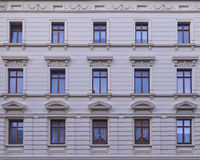 Renovated old building facade Royalty Free Stock Images