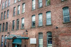 Renovated Old Warehouse Stock Photography