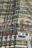 Renovated the pagoda Royalty Free Stock Photos