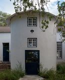 Renovated silo on a farm in Simonsberg  / Franschhoek, Cape Town, South Africa stock photography