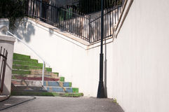 Renovated stairs Stock Image