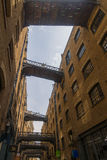 Renovated storehouses in Butlers Wharf Stock Image